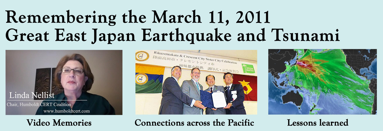 Remembering the 2011 Great East Japan Earthquake & Tsunami