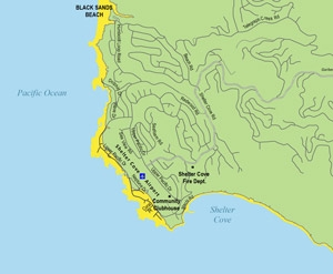 Shelter Cove Hazard Map