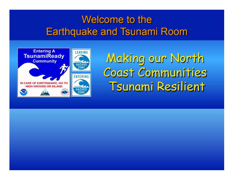 Fair Topics from 2007 - Seven Steps for Tsunami Readiness