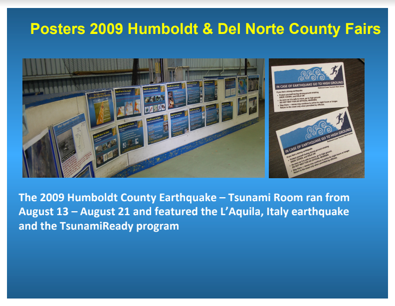 Fair Topics from 2009 - Lessons Learned from L'Aquila, Italy & the TsunamiReady Program