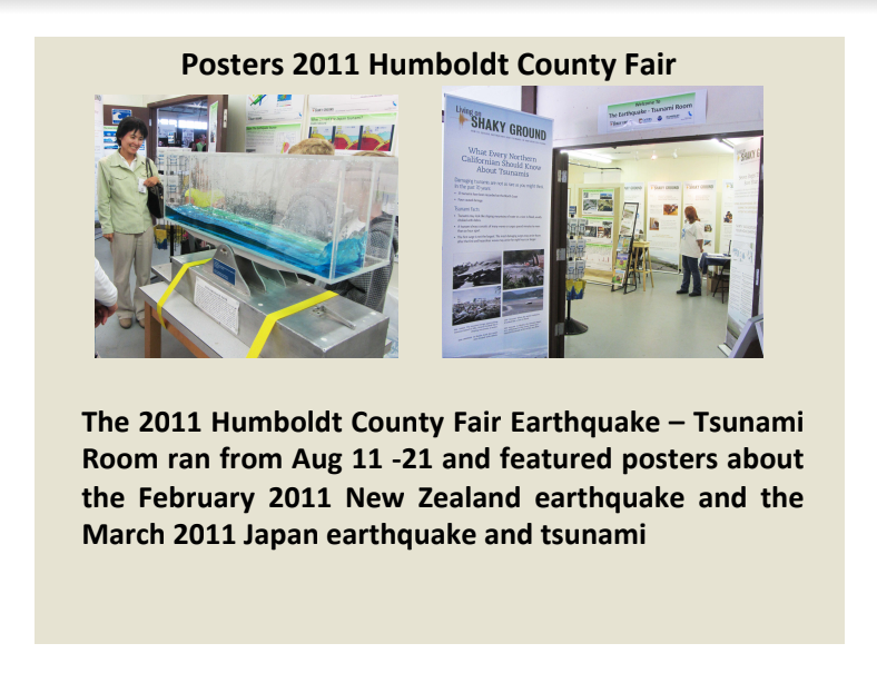 Fair Topics from 2011 - The Events in New Zealand & Japan