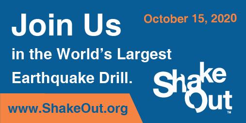 ShakeOut Reminder Photo
